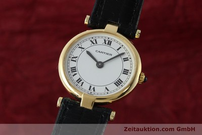 CARTIER VENDOME 18 CT GOLD QUARTZ KAL. 81 [150523]