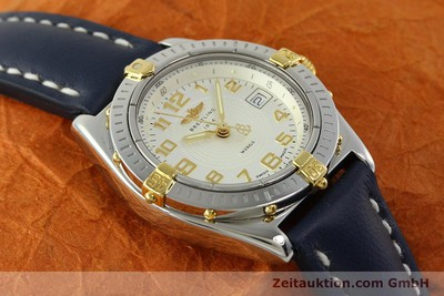 BREITLING WINGS STEEL / GOLD QUARTZ KAL. B67 ETA 956612 LP: 2910EUR [150533]