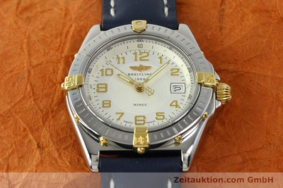 BREITLING WINGS ACIER / OR QUARTZ KAL. B67 ETA 956612 LP: 2910EUR [150533]