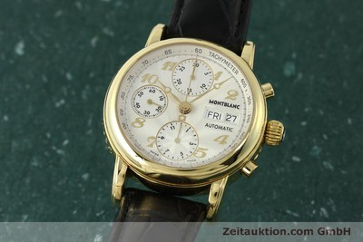 MONTBLANC MEISTERSTÜCK CHRONOGRAPH 18 CT GOLD AUTOMATIC KAL. 4810501 [150535]