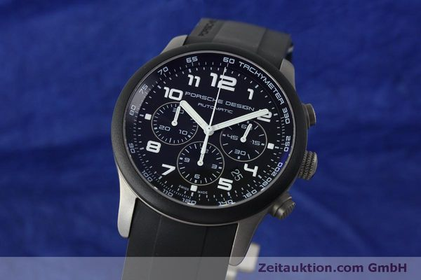 PORSCHE DESIGN DASHBORD CHRONOGRAPHE TITANE AUTOMATIQUE KAL. ETA 2894-2 LP: 4300EUR [150539]