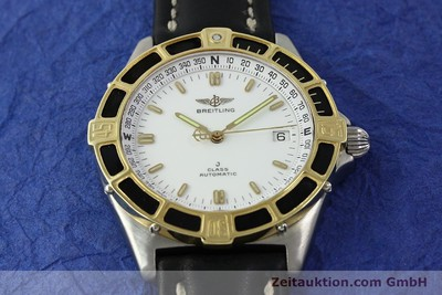 BREITLING J-CLASS ACIER / OR AUTOMATIQUE KAL. ETA 2892-2 LP: 3340EUR [150545]