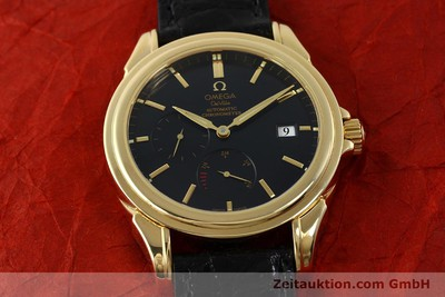 OMEGA 18K DE VILLE CO-AXIAL CHRONOMETER POWER RESERVE HERREN VP: 17100,- EURO [150569]