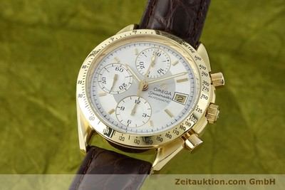 OMEGA SPEEDMASTER CHRONOGRAPH 18 CT GOLD AUTOMATIC KAL. 1155 LP: 14200EUR [150571]