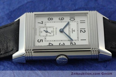 JAEGER LE COULTRE REVERSO STEEL MANUAL WINDING KAL. 822 LP: 6000EUR [150580]