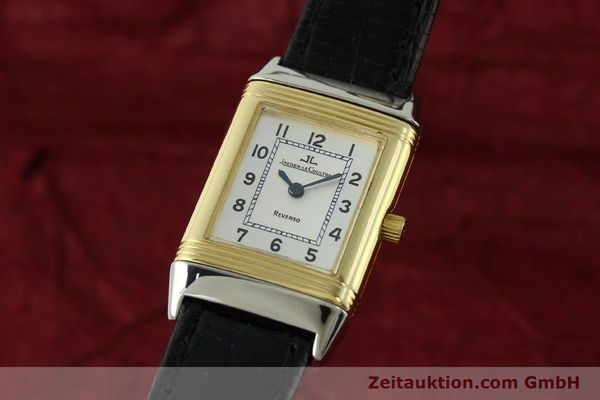 JAEGER LECOULTRE JLC LADY REVERSO DAMENUHR GOLD / STAHL 260.5.08 VP: 6650,- Euro [150587]
