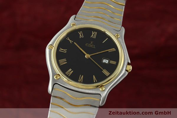 EBEL CLASSIC WAVE HERRENUHR GOLD / STAHL CLASSICWAVE MEDIUM VP: 2470,- EURO [150589]