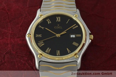EBEL CLASSIC WAVE STEEL / GOLD QUARTZ KAL. 83 [150589]