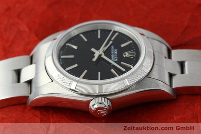 ROLEX LADY OYSTER PERPETUAL NO DATE STAHL AUTOMATIK DAMENUHR 76030 VB: 3900,- Euro [150591]