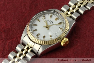 ROLEX LADY DATE ACIER / OR AUTOMATIQUE KAL. 2030 LP: 6950EUR [150595]
