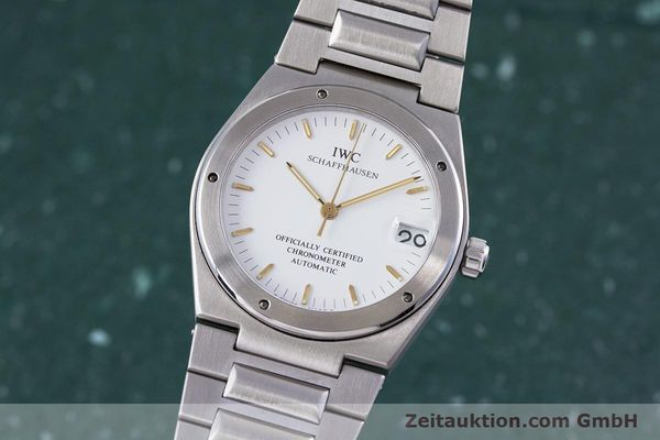 IWC INGENIEUR AUTOMATIK CHRONOMETER HERRENUHR REVIDIERT 2015 REF 3521 VP: 5900,- [150608]