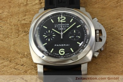 PANERAI LUMINOR CHRONOGRAPHE ACIER AUTOMATIQUE KAL. OP XIX ETA 7750 LP: 9800EUR [150609]