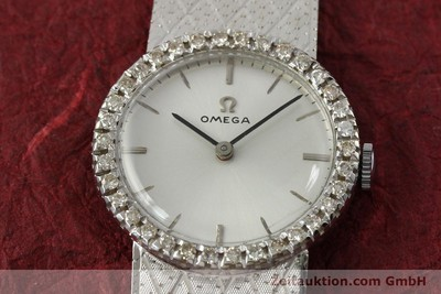 OMEGA 18 CT WHITE GOLD MANUAL WINDING KAL. 620 VINTAGE [150611]
