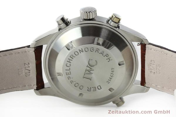Used luxury watch IWC Doppelchronograph chronograph steel automatic Kal. 79230 Ref. 3713  | 150613 09