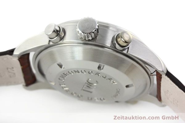 Used luxury watch IWC Doppelchronograph chronograph steel automatic Kal. 79230 Ref. 3713  | 150613 12