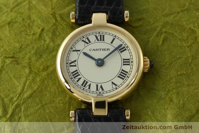 CARTIER 18 CT GOLD QUARTZ KAL. 157 [150617]