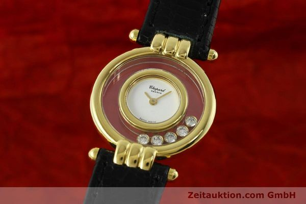 CHOPARD HAPPY DIAMONDS ORO 18 CT QUARZO KAL. ETA 201001 [150626]