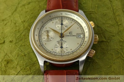 CHRONOSWISS PACIFIC CHRONOGRAPHE ACIER / OR AUTOMATIQUE KAL. 7414 VAL 7750 [150647]
