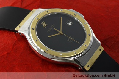 HUBLOT MDM STEEL / GOLD QUARTZ KAL. ETA 955411 LP: 6600EUR [150650]
