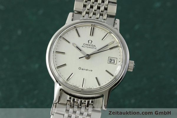 Used luxury watch Omega * steel automatic Kal. 1012 Ref. 166.0163  | 150654 04