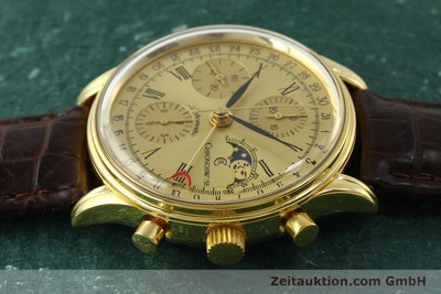 CHRONOSWISS A. ROCHAT CHRONOGRAPH GOLD-PLATED AUTOMATIC KAL. ETA 7750 [150659]