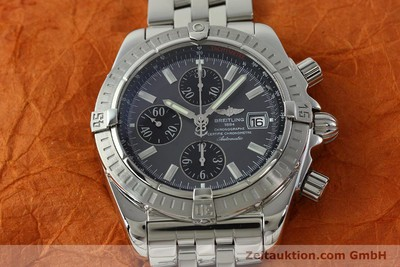 BREITLING EVOLUTION CHRONOGRAPH STEEL AUTOMATIC KAL. B13 ETA 7750 LP: 7500EUR [150663]