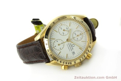 OMEGA SPEEDMASTER CHRONOGRAPH 18 CT GOLD AUTOMATIC KAL. 1155 ETA 7750 LP: 14200EUR [150665]
