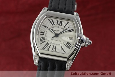 CARTIER ROADSTER STEEL AUTOMATIC KAL. 3110 ETA 2892A2 [150674]