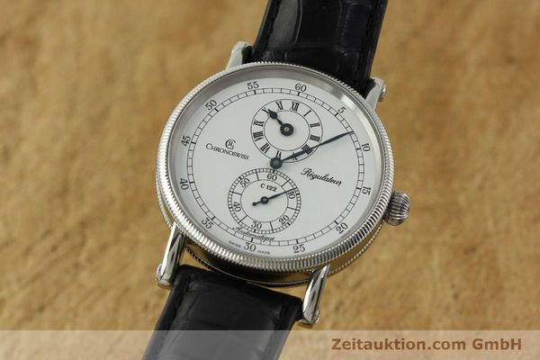 CHRONOSWISS REGULATEUR ACIER AUTOMATIQUE KAL. C122 [150680]