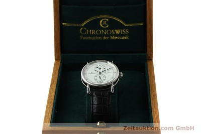 CHRONOSWISS REGULATEUR STEEL AUTOMATIC KAL. C122 [150680]