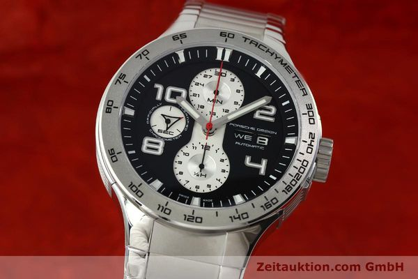 PORSCHE DESIGN FLAT SIX CHRONOGRAPH STEEL AUTOMATIC KAL. ETA 7750 [150683]