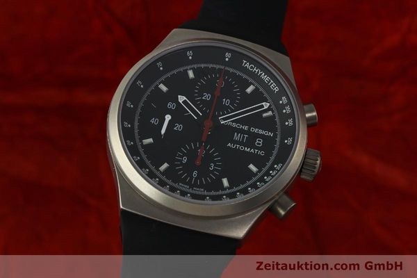 PORSCHE DESIGN BY ETERNA CHRONOGRAPHE TITANE AUTOMATIQUE KAL. ETA 7750 LP: 4300EUR [150684]