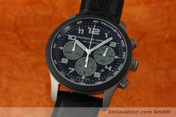 PORSCHE DESIGN DASHBORD CHRONOGRAPHE TITANE AUTOMATIQUE KAL. ETA 2894-2 LP: 4300EUR [150686]