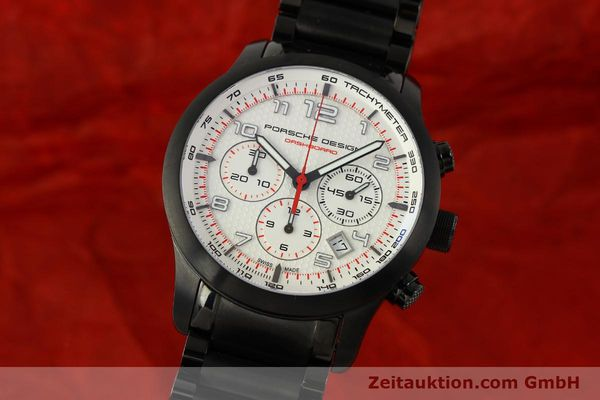 PORSCHE DESIGN DASHBORD CHRONOGRAPHE TITANE AUTOMATIQUE KAL. ETA 2894-2 LP: 4300EUR [150687]