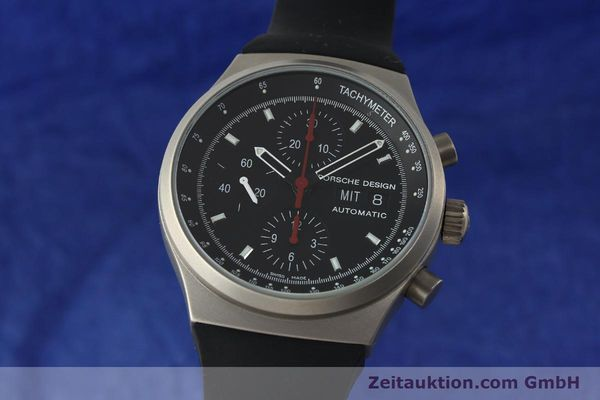 PORSCHE DESIGN BY ETERNA CHRONOGRAPHE TITANE AUTOMATIQUE KAL. ETA 7750 LP: 4300EUR [150691]