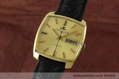 JAEGER LE COULTRE CLUB 18 CT GOLD AUTOMATIC KAL. AS 1906 LP: 13800EUR [150703]