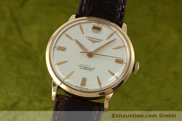 LONGINES CONQUEST 18 CT GOLD AUTOMATIC KAL. 291 LP: 6040EUR [150706]