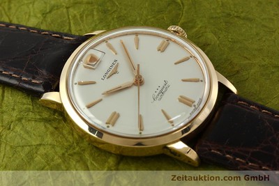 LONGINES CONQUEST OR 18 CT AUTOMATIQUE KAL. 291 LP: 6040EUR [150706]