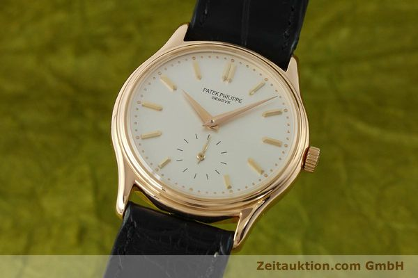 PATEK PHILIPPE CALATRAVA 18 CT RED GOLD MANUAL WINDING KAL. 215 LP: 17810EUR  [150718]