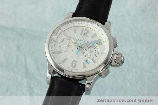 JAEGER LE COULTRE LADY MASTER COMPRESSOR CHRONOGRAPH STAHL 148.8.31 VP: 8500,- Euro [150722]