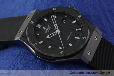 HUBLOT CLASSIC FUSION BLACK MAGIC 42 CERAMIC / TITAN AUTOMATIK NP: 7600,- EURO [150723]