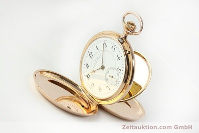 ASSMANN TASCHENUHR 14 CT RED GOLD MANUAL WINDING [150726]