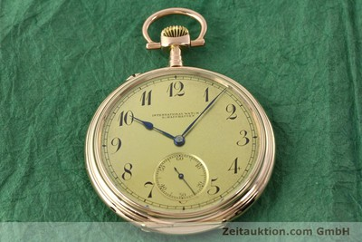 IWC TASCHENUHR 14 CT RED GOLD MANUAL WINDING KAL. 55231 [150728]