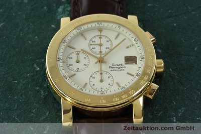 GIRARD PERREGAUX 7000 CHRONOGRAPHE OR 18 CT AUTOMATIQUE KAL. 800-014 LP: 27500EUR [150729]