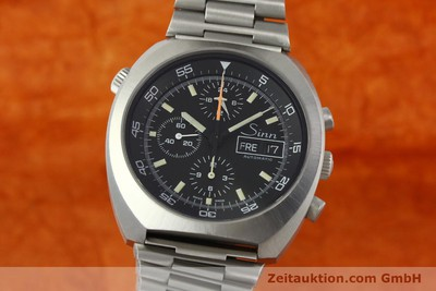 SINN D1 MISSION CHRONOGRAPH STEEL AUTOMATIC KAL. 5100 [150732]