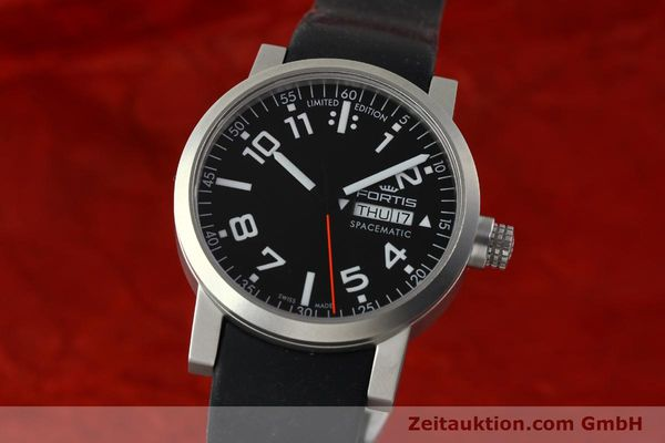 FORTIS SPACEMATIC ACIER AUTOMATIQUE KAL. ETA 2836-2 LP: 1145EUR [150754]