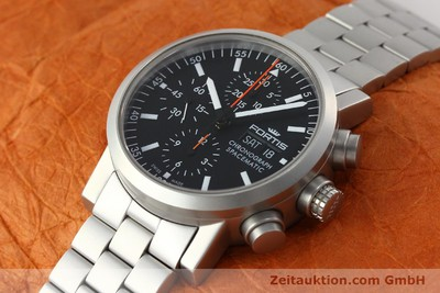 FORTIS SPACEMATIC CHRONOGRAPH STEEL AUTOMATIC KAL. ETA 7750 LP: 2585EUR [150755]