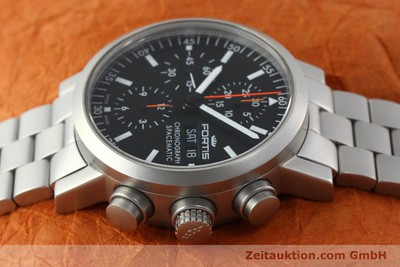 FORTIS SPACEMATIC CHRONOGRAPHE ACIER AUTOMATIQUE KAL. ETA 7750 LP: 2585EUR [150755]