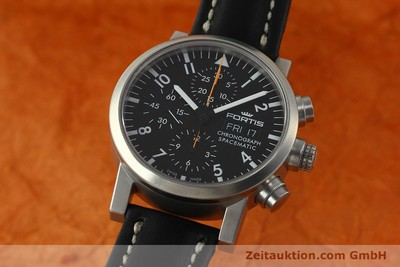 FORTIS SPACEMATIC AUTOMATIK CHRONOGRAPH HERRENUHR FLIEGERUHR VP: 2590,- EURO [150759]