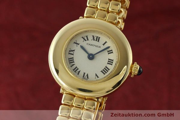 CARTIER ORO 18 CT QUARZO KAL. 66 [150762]